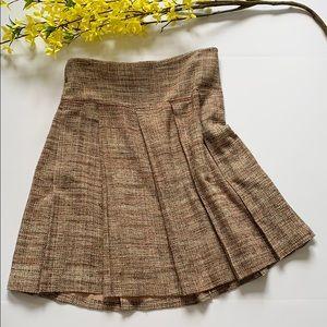 BCBG MaxAzria A-Line Tweed Skirt
